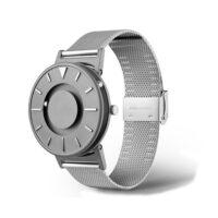 zegarek brajlowski bradley-mesh-silver