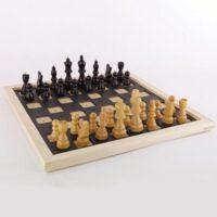 szachy drewniane